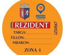 Tirana Parking: Edhe për 2018-ën, karta e rezidentit falas