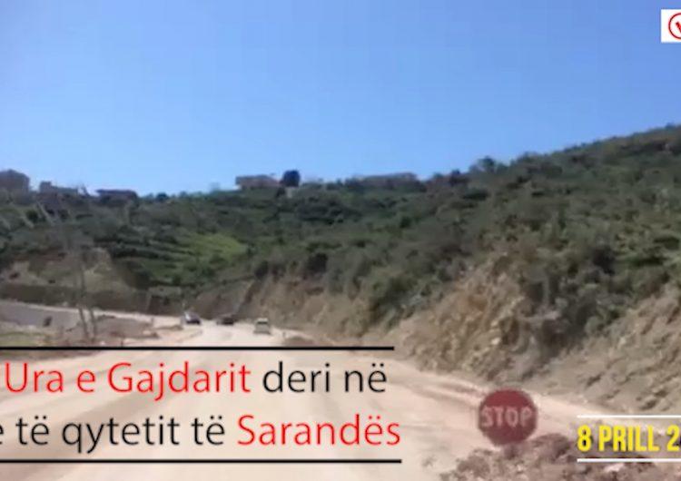 Sezoni turistik në Sarandë nis me rrugë të pa rikonstruktuar