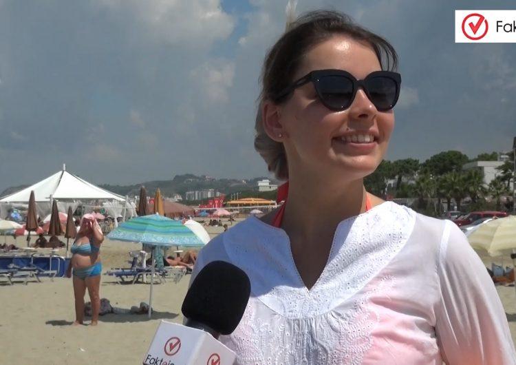 Vox Pop / Çfarë mendojnë pushuesit për kushtet e plazhit të Golemit?