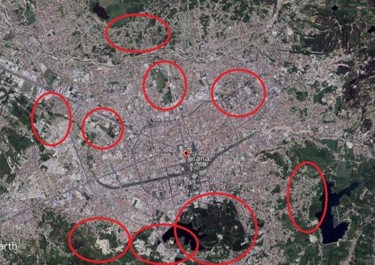 VIDEO/ Si ka ndryshuar Tirana nga viti 1984 deri sot bazuar në imazhet satelitore