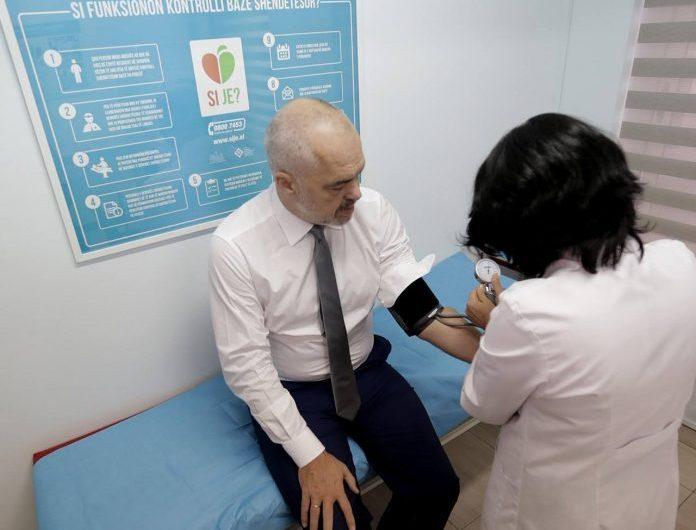 Rama: Gjysmë milionë shqiptarë kryejnë çdo vit check up-in falas