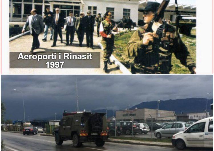 Dy rastet kur ushtria ka zbarkuar në mbrojtje të Aeroportit të Rinasit