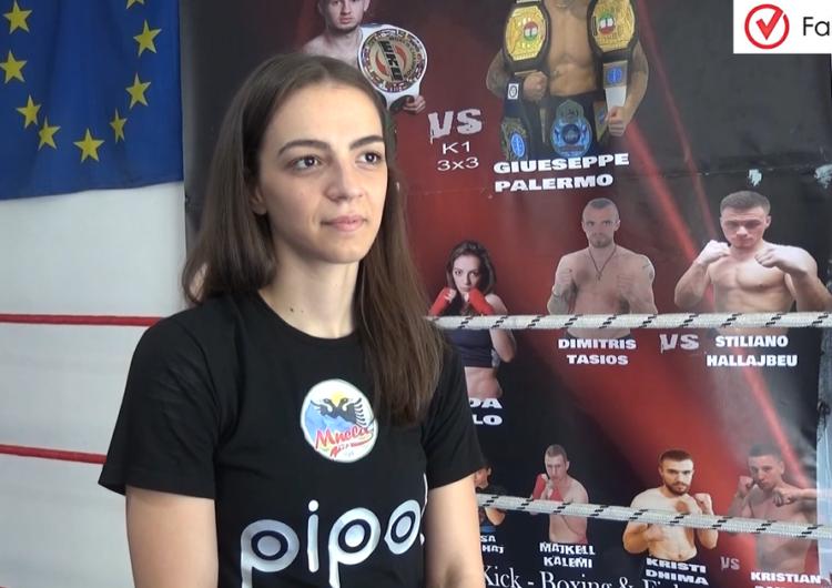 Kampionia shqiptare në kickbox pa asnjë përkrahje nga shteti