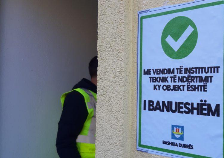Si po shkon inspektimi në Durrës 10 ditë pas tërmetit